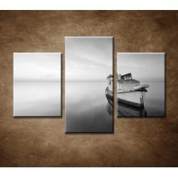 Obrazy na stenu - Stará loď - 3dielny 90x60cm