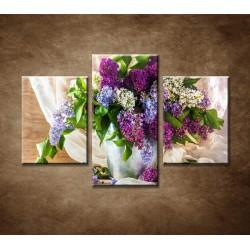 Obrazy na stenu - Farebný orgován - 3dielny 90x60cm