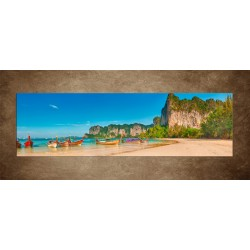 Obraz - Západná pláž Railay - panoráma