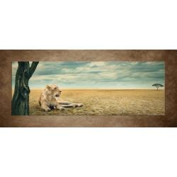 Obrazy na stenu - Odpočívajúca levica
