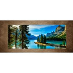 Obraz - Národný park Jasper - panoráma
