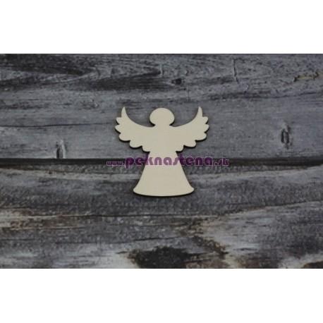 Drevený výrez - Anjel - motív 1