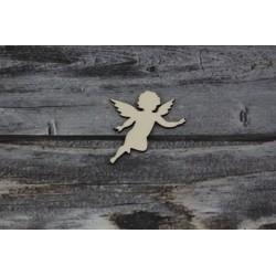 Drevený výrez - Anjel - motív 3