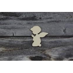 Drevený výrez - Anjel - motív 5