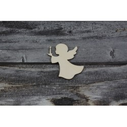Drevený výrez - Anjel - motív 6