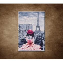 Obrazy na stenu - Dáma v Paríži