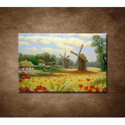 Obrazy na stenu - Maľba - Veterný mlyn