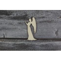 Drevený výrez - Anjel - motív 2