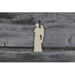 Drevený výrez - Anjel - motív 8