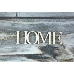 Drevený výrez - HOME
