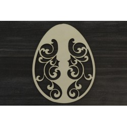 Drevený výrez - Veľkonočné vajce - motív 3