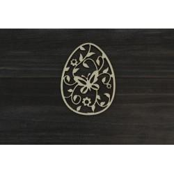 Drevený výrez - Veľkonočné vajce - motív 4