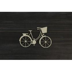 Drevený výrez - Bicykel