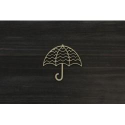 Drevený výrez - Dáždnik - motív 2