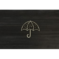 Drevený výrez - Dáždnik - motív 3