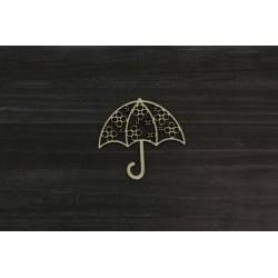 Drevený výrez - Dáždnik - motív 4