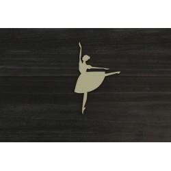 Drevený výrez - Baletka - motív 2