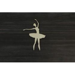 Drevený výrez - Baletka - motív 3