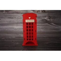 Telefónna búdka - maľovaná