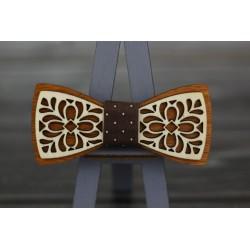 Drevený motýlik - motív 10