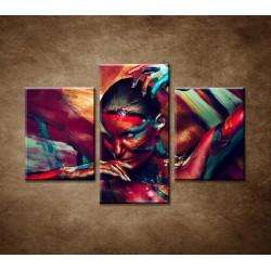 Obrazy na stenu - Abstraktný motív 13  - 3dielny 90x60cm