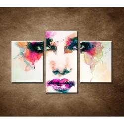 Obrazy na stenu - Abstraktný motív 2 - 3dielny 90x60cm