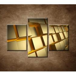 Obrazy na stenu - Abstraktný motív 21 - 3dielny 90x60cm