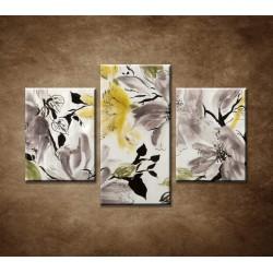 Obrazy na stenu - Abstraktný motív 24 - 3dielny 90x60cm