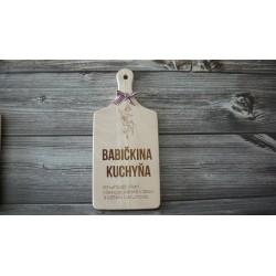 Drevený lopárik - Babičkina kuchyňa