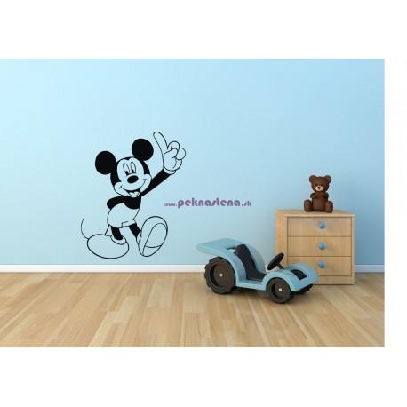 Nálepka na stenu - Mickey Mouse