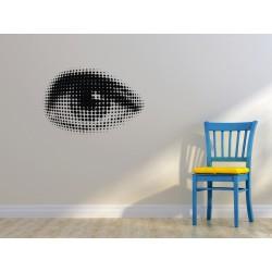 Nálepka na stenu - Ľudské oko