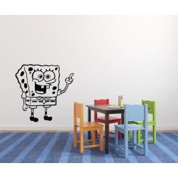 Nálepky na stenu - SpongeBob