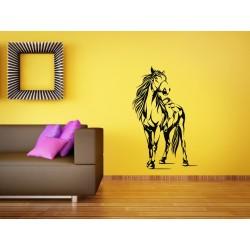 Nálepka na stenu - Jazdecký kôň