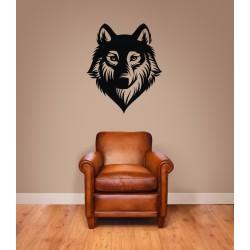 Nálepka na stenu - Vlk