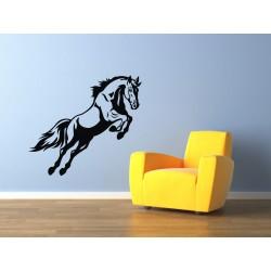 Nálepka na stenu - Divoký kôň
