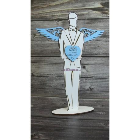 Drevený anjel - Muž