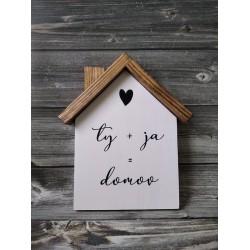 Drevený domček - Ty a ja