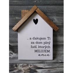 Drevený domček - MODLITBA