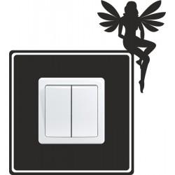 Nálepka pod vypínač - Víla