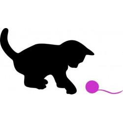 Mačiatko s klbkom