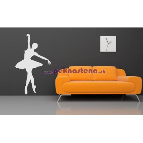 Nálepka na stenu - Baletka