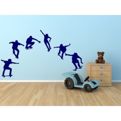 Skateboardisti -  6 kusov