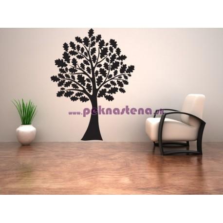 Nálepka na stenu - Listnatý strom