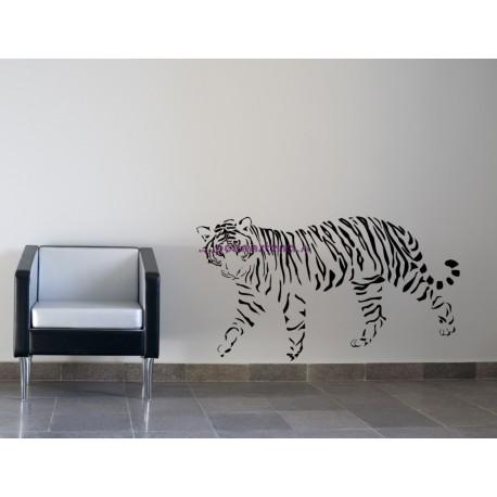 Nálepka na stenu - Tiger