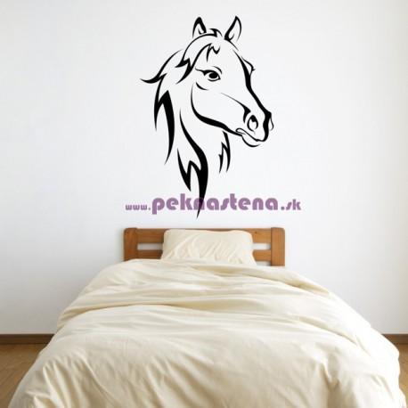 Nálepka na stenu - Koňská hlava