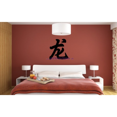 Nálepka na stenu - Čínske znamenie  ,,DRAK,,