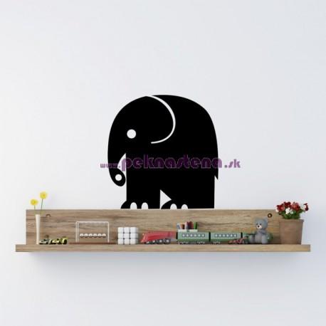 Nálepka na stenu - Sloník