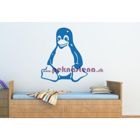 Nálepka na stenu - Tučniak