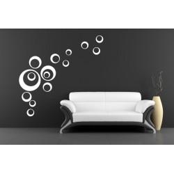 Nálepka na stenu - Bubliny BOLIA