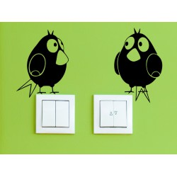 Vtáci - set 2 kusov